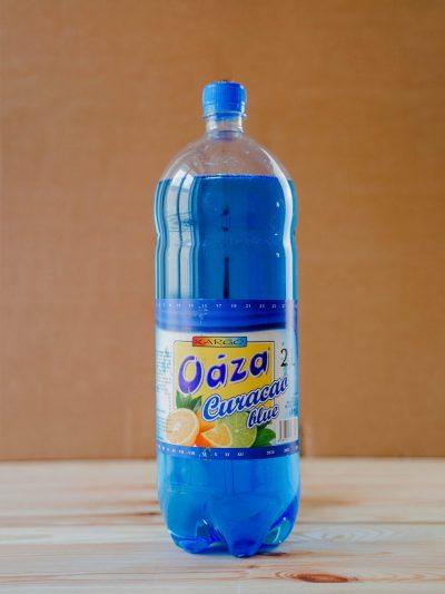 Limonáda s príchuťou Curacao Blue